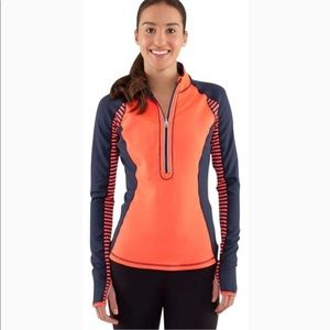 Lululemon Run: U-Turn Pullover Size 4?